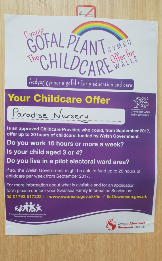 nursery poster childcare